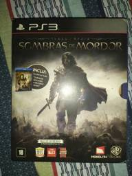 JOGO PS3 SOMBRAS DE MORDOR comprar usado  Barra Mansa