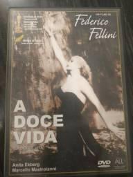 DVD A Doce Vida - R$ 10