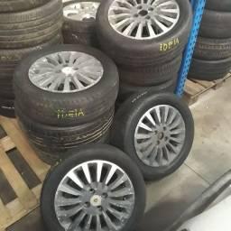 Rodas Fiat idéia aro 15