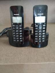 Telefone sem Fio Panasonic com 2 Pontos