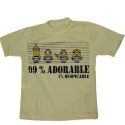 Camisetas Infantil Personagens