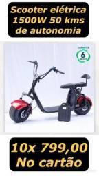 Scooter elétrica 0km 7.990,00 em 10x s/juros