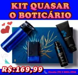 Coleção Exclusivos kits de Natal o Boticário em PRONTA ENTREGA