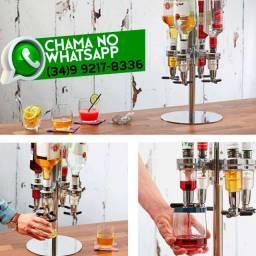 Dispenser para Bebidas * 4 Bicos * Giratório * Fazemos Entregas