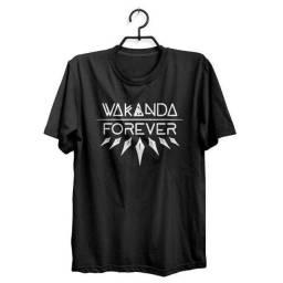 Camiseta Wakanda Forever Marvel