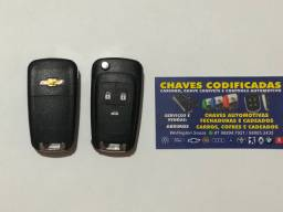 Chave chevrolet canivete