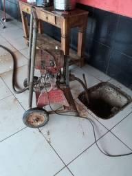 Maquina Ak500, máquina desintupidora de esgoto.