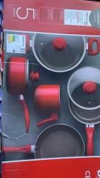 Conjunto de panelas brinox