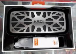 Caixa de som bluetooth Kaidi portatil