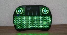 Mini teclado bluetooth touch para TV Box e notebook. Com frete grátis.