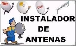Instalação e manutenção tv por satélites e telefonia em geral