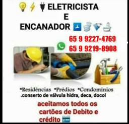 Eletricista encanador