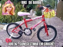 Bike da Barbie - Aro 16.