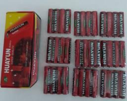Pilha palito aaa huayun caixa 40un-entregamos em domicílio