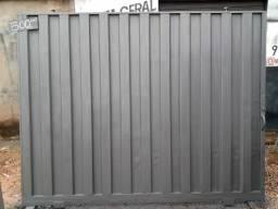 Portão 267x210 chapa 18