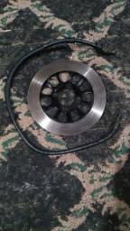 Disco de freio Intruder 125 + brinde flexível da Yes NOVO