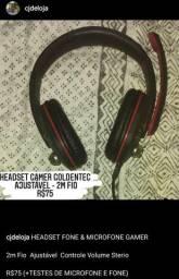 Headset Ajustável 2m R$75