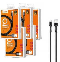 Cabo Iphone, Tipo C e Micro USB V8 O Mais Reforçado do Mercado - Loja Natan Abreu