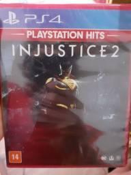 Injustice 2 ps4 lacrado vendo ou troco