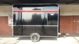 trailer lanche 3mtx2mt em acm pteto pronta entrega