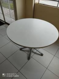 Mesa reunião branca