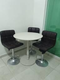 Pra vender rápido, conjunto de cadeiras + mesa