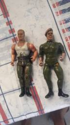 Boneco filme Rambo anos 80