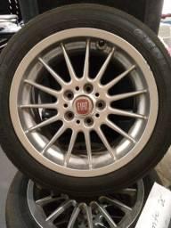Conjunto de rodas e pneus aro 17