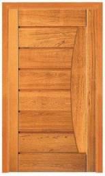 Porta Pivotante ETP-69 madeira 100% maciça angelim pedra