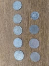 9 moedas de prata de reis. Não faço envio. Uberlândia mg