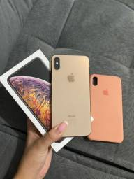 iPhone xs max 64gb gold garantia 20/11/2020