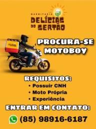 Procura-se Motoboy