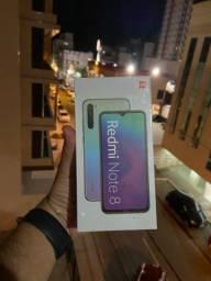 Xiaomi Redmi Note 8 64gb novo lacrado 10x no cartão