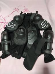 Jaqueta de proteção de moto