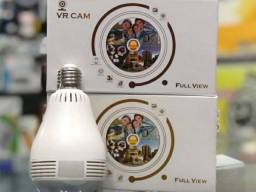 Camera Lampada Panoramica Espia Wi-fi V380 Segurança