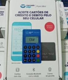Whatsapp * - Máquina de Cartão Point Mini Blue Modelo Exclusivo - Original