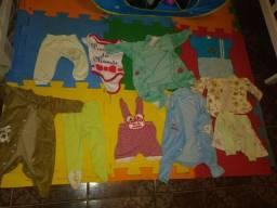 Vendo lote de roupas de bebé bairro fortaleza ribeirao das neves n entrego
