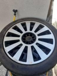 Roda aro 18 usada pneus bons