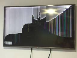 Tv Smart 40polegadas com tela quebrada