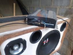 Vendo uma excelente caixa de som pra carro com modolo