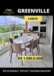 Título do anúncio: Greenville Ludco 3/4 (2 suites com closet )