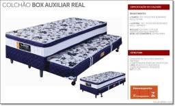 Título do anúncio: Colchobox Solteiro - Azul - Aux ( Novo de Fábrica )