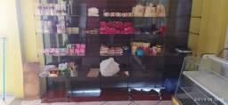 Equipamento para lanchonete , bomboniere, balcão seco e vitrine