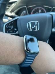 Apple Watch séries 6 44mm aço inox
