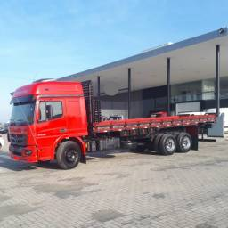 Título do anúncio: M.Benz Atego 2430, 6x2, Ano 2019, Automático, 300mil km, Único Dono