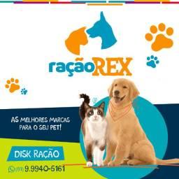 Ração REX! Delivery de ração para o seu PET, peça já!