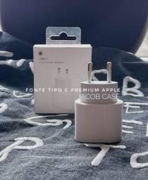 Fonte tipo/type C Original Apple (Iphone) - Novo