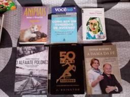 Livros Diversos - Valores na Descrição.