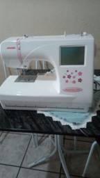 Maquina de bordar janome mc 370e , oportunidade de empreender