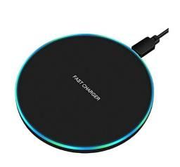 Carregador Sem Fio Wireless Por Indução Sensor Mesa